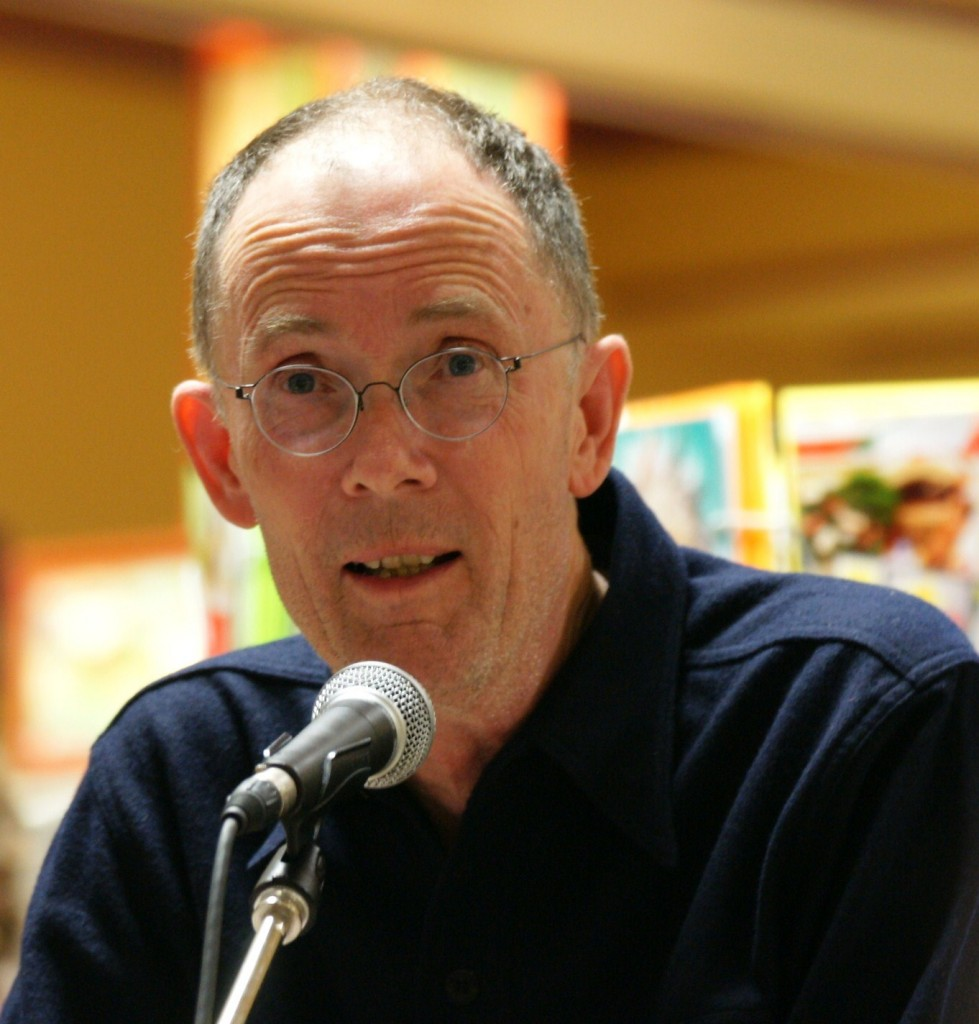 author William Gibson reads at Bolen Books in Victoria B.C.